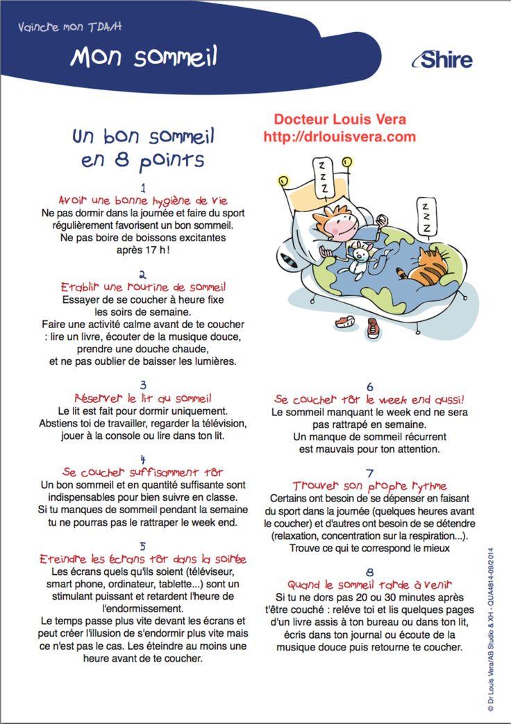 Sommeil et TDA/H