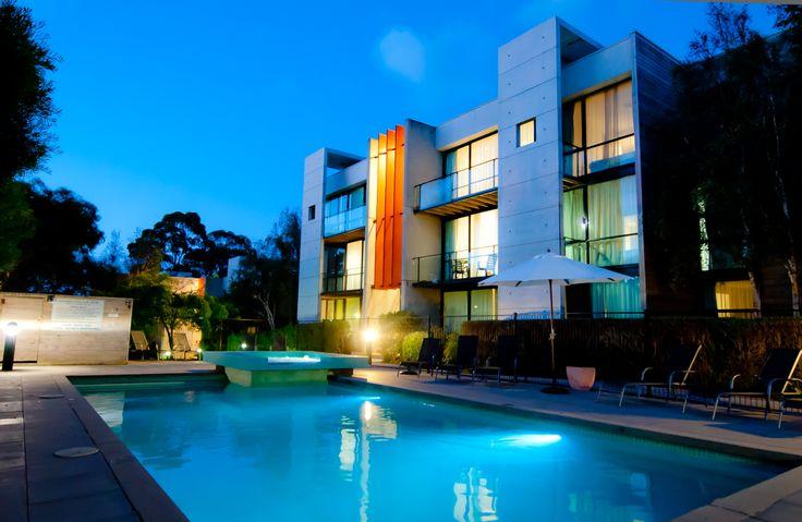 Phillip Island Apartments Beautiful Pool, Spa and BBQ Area #phillipisland #apartments #accomodation #cowes #travel #holiday #pool #swim #bbq #barbecue #spa #victoria #australia