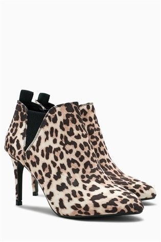 Buy Leopard Print Formal Shoe Boots from the Next UK online shop