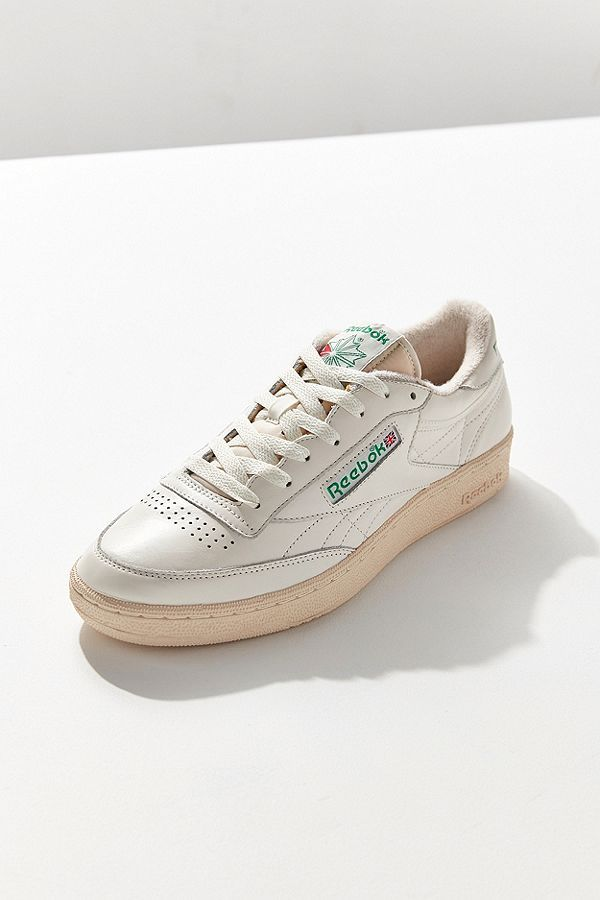 6e39634a4cd9d Reebok Club C Vintage Sneaker. Timelessly classic leather sneakers from  Reebok