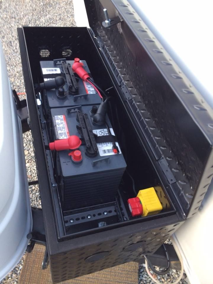 Dual battery & box upgrade complete - Forest River Forums ...