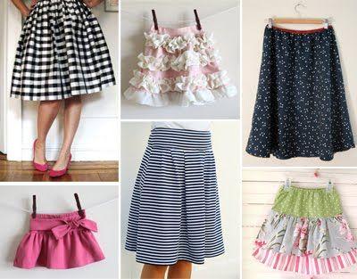 Various Skirt DIY