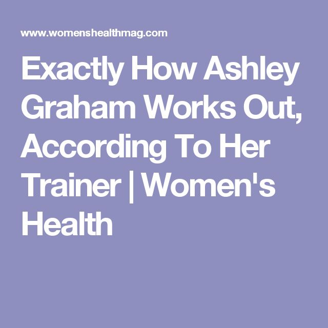 Exactly How Ashley Graham Works Out, According To Her Trainer | Women's Health