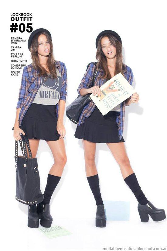 Moda otoño invierno 2014. 47 Street invierno 2014 botas y zapatos.