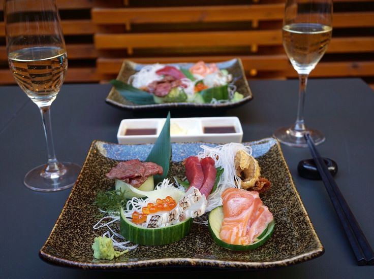 The Three Top Sushi Restaurants in Toronto, (& in my opinion, the BEST sushi in downtown Toronto). I've included three Toronto restaurants that serve sushi at three various price points. • #sushi #bestsushi #toronto #food