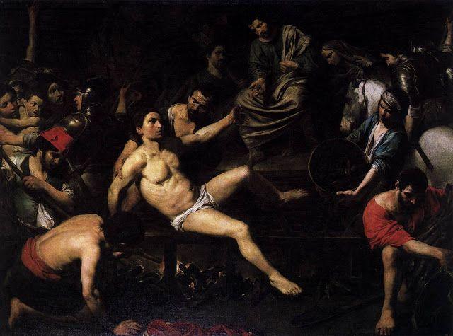 Μαρτύριο του Αγίου Λαυρέντιου - 1621-22 Μουσείο Πράδο - Μαδρίτη