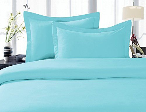 Elegant Comfort 1500 Thread Count Wrinkle,Fade and Stain Resistant 3-Piece Bed Sheet set, Deep Pocket, HypoAllergenic - Twin/Twin XL Aqua Blue //http://bestadjustablebed.us/product/elegant-comfort-1500-thread-count-wrinklefade-and-stain-resistant-3-piece-bed-sheet-set-deep-pocket-hypoallergenic-twintwin-xl-aqua-blue/