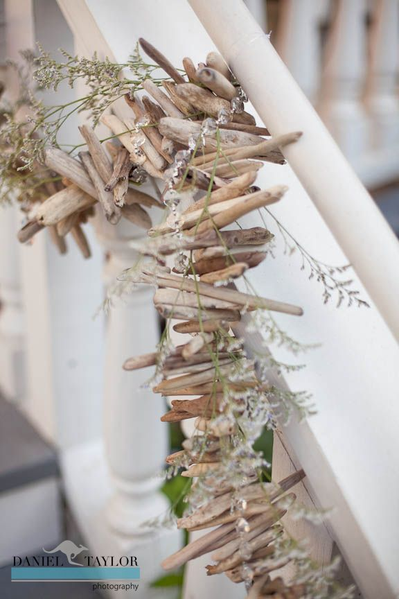 Driftwood wedding garland @Ricci Struble Struble Struble Peters