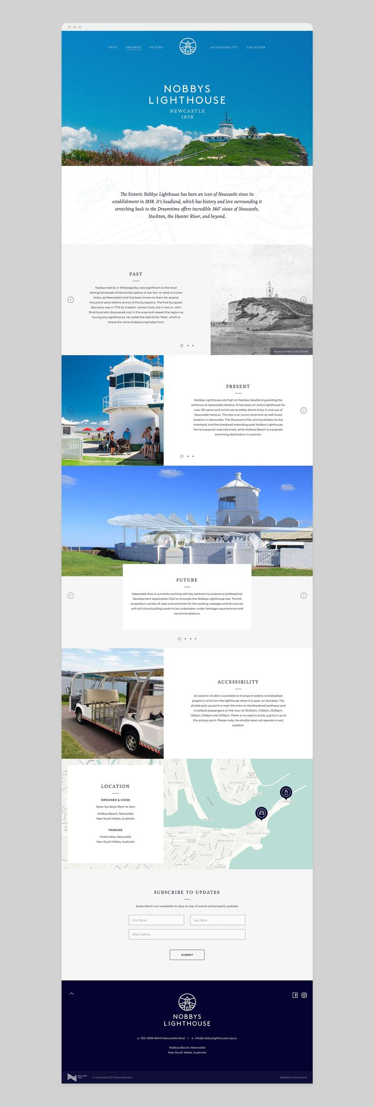 Nobby Lighthouse |Website Homepage