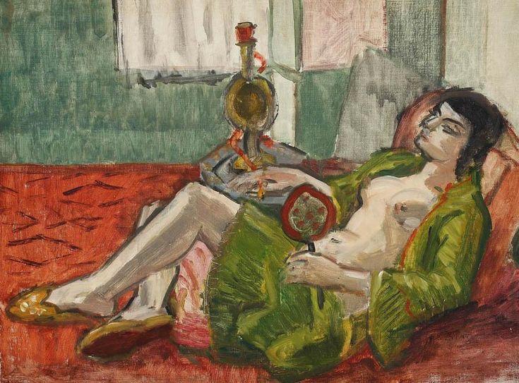 Theodore Pallady - Opium smoker