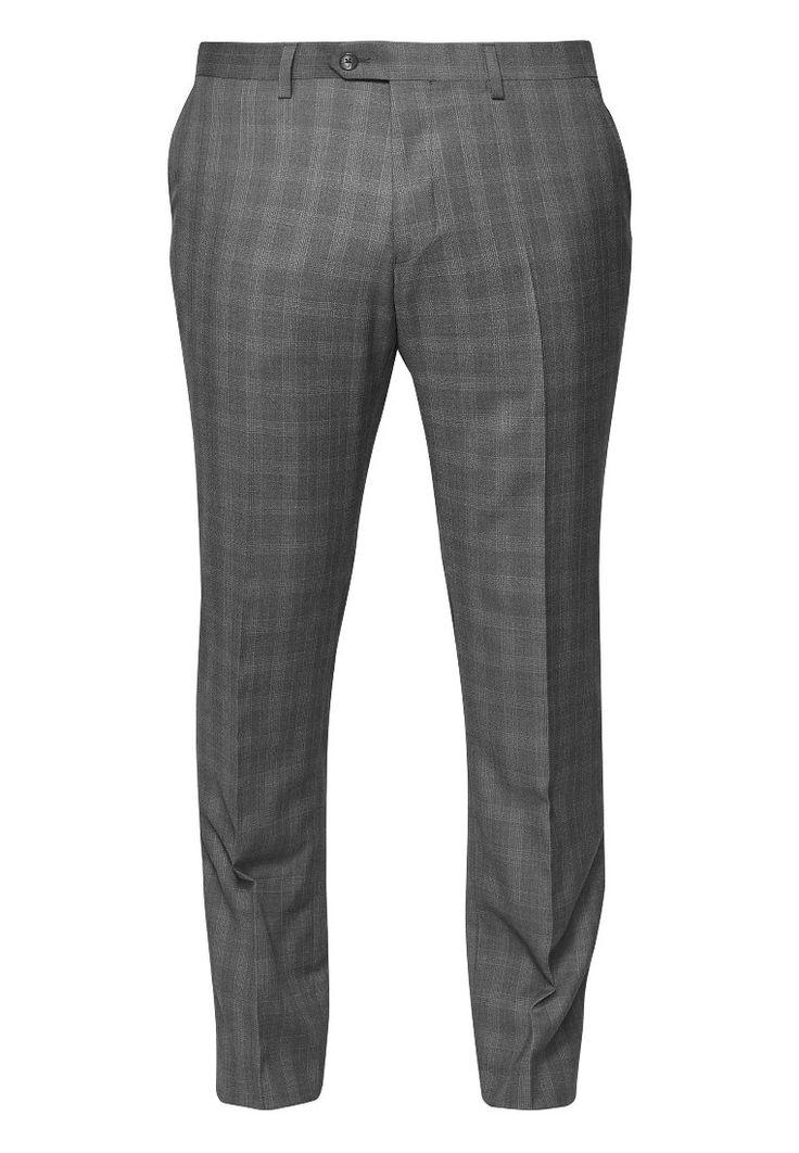 Next Anzughose grey Bekleidung bei Zalando.de | Material Oberstoff: 65 ...