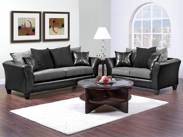 Sierra Gray Sofa And Loveseat Set