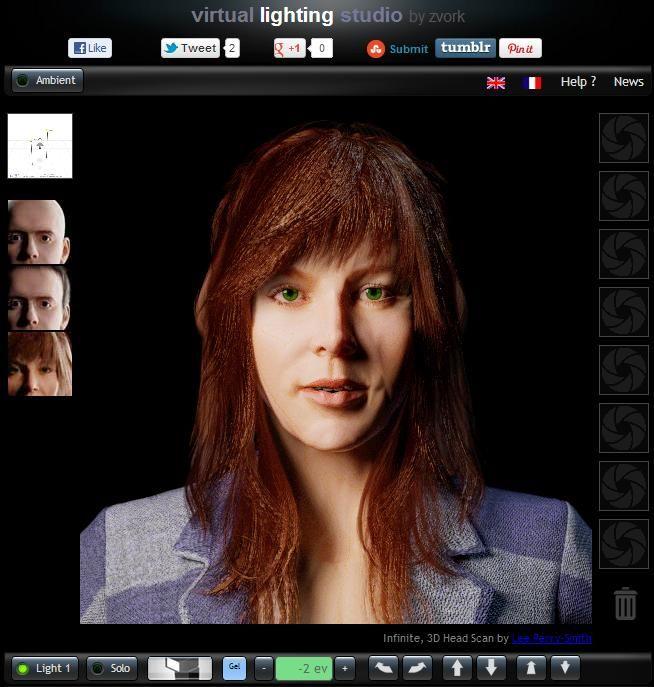 Virtual Lighting Studio