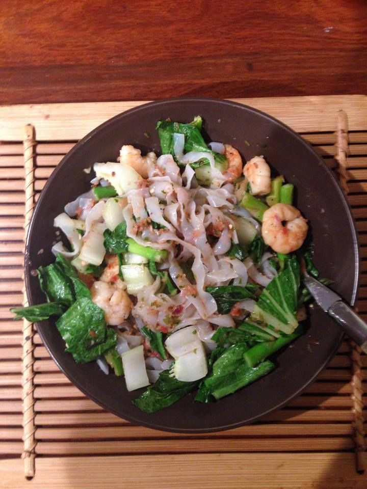 Prawns with noodles, great for phase 2 hCG diet  www.capalabanaturalhealth.com.au
