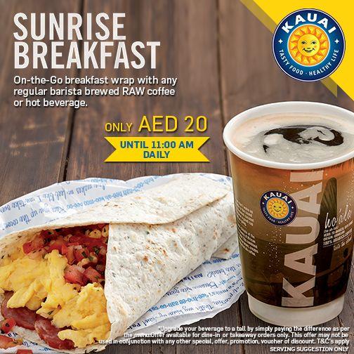 Best breakfast options in dubai