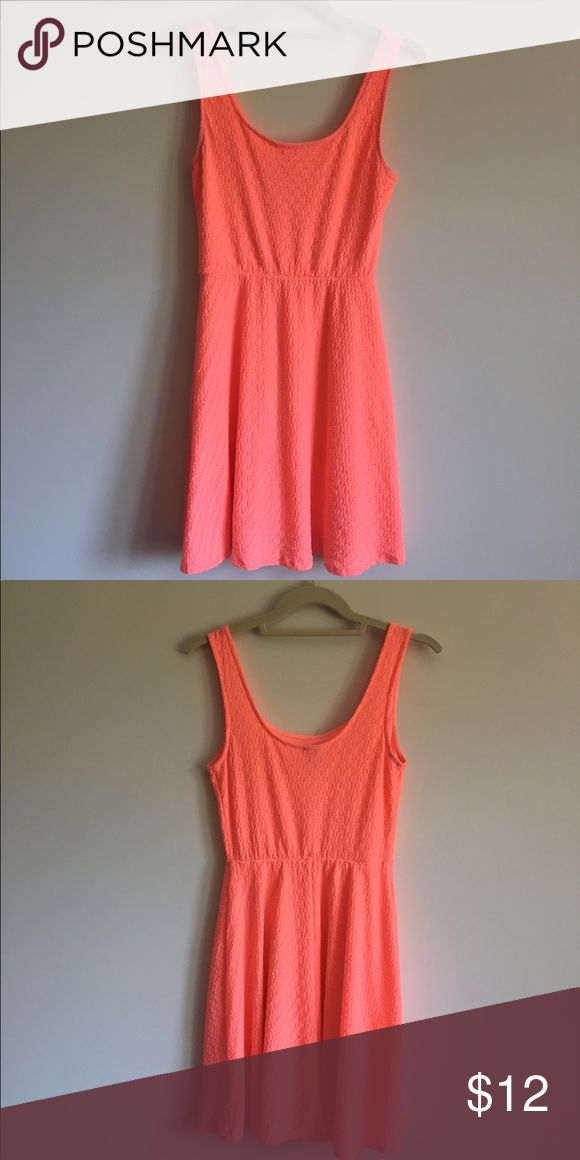 Mossimo Bright Coral Sundress Excellent Condition Mossimo Supply Co. Dresses