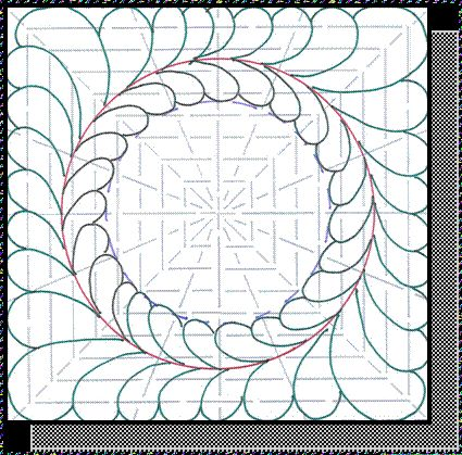 149 best The Ultimate Stencil images on Pinterest | Stenciling ... : feather quilting stencils - Adamdwight.com