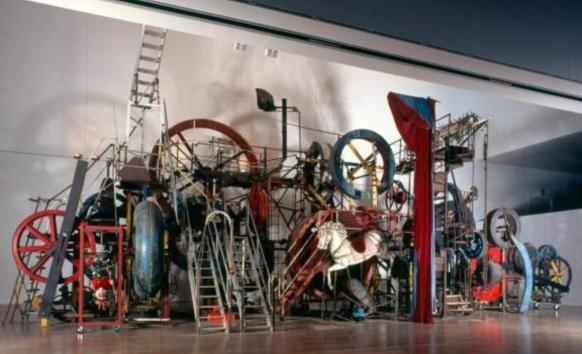 HU Art Sound: Jean Tinguely: Kinetic Machines