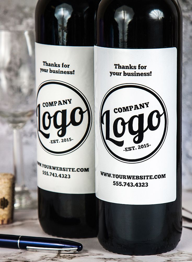 Your customers/clients will love you even more if you give them a bottle of wine as a thank you. You can personalize your labels at icustomlabel