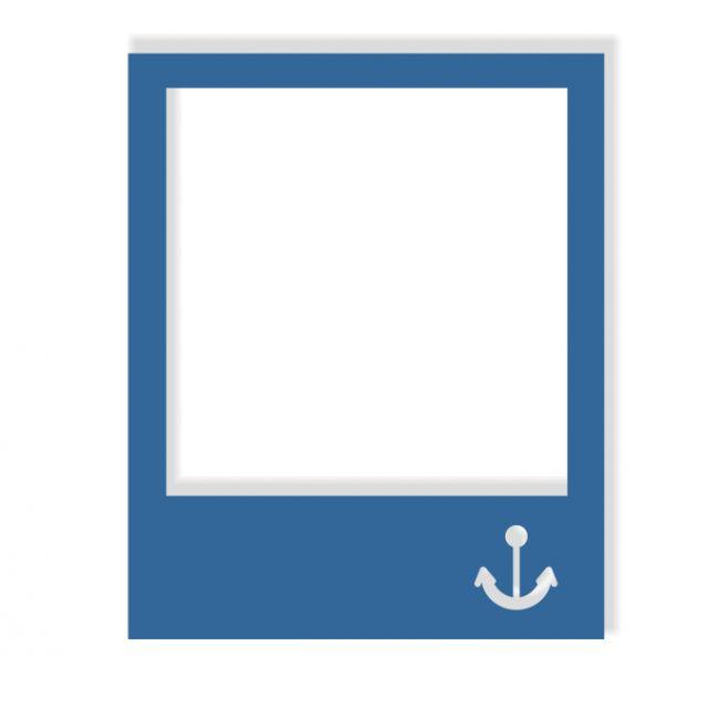 Polaroid - Anchor Laser Die Cut