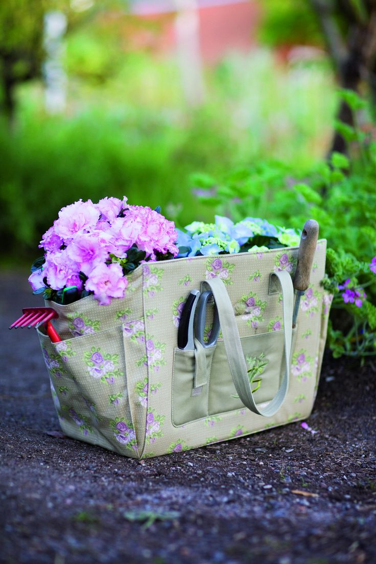 Top 25 ideas about Garden Bags for Inspiration on Pinterest