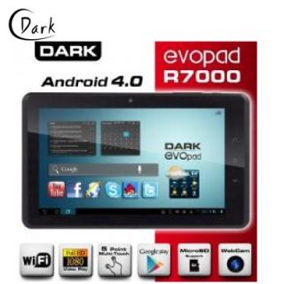 Bilgisayar :: Tablet :: DARK EVOPAD (DK-PC-EVOR7000), R7000, 7 , 512MB, 4GB, ANDROİD 4.0, TABLET - http://www.hesaplialisveris.net/dark-dk-pc-evor7000-7-android-4.0-4gb-kapasiteli-kapasitif-tablet-pc.html