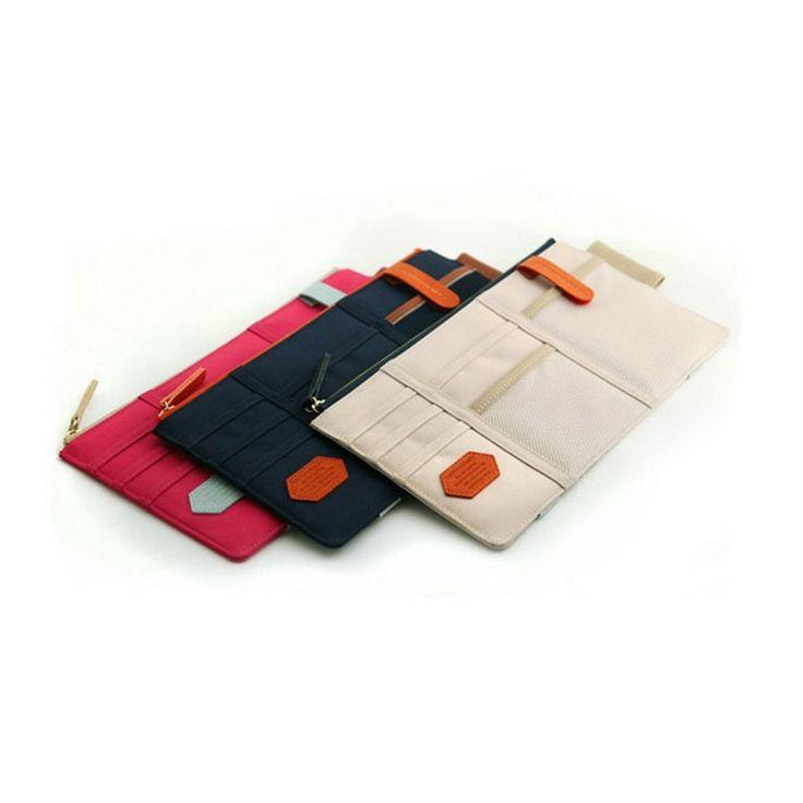 Strong Magic Tape Car Seat Back Storage Mesh Net Bag 40cm*25cm Luggage Holder Pocket Sticker Trunk Organizer | #StorageOrganizers