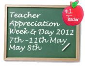 Teacher Appreciation Week!! Let's celebrate and thank our lovely teachers in the Central Valley for all of their hard work!