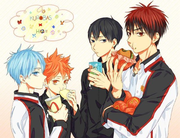Kuroko No Basket Purple Hair: 1636 Best Images About KnB On Pinterest