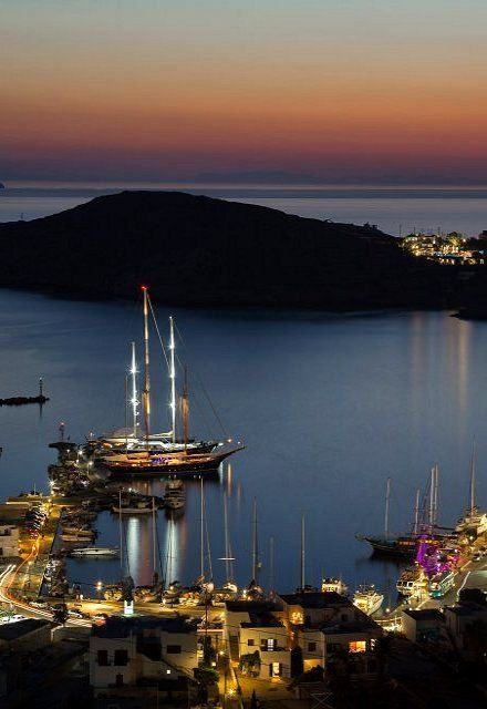 Port of Ios Island, Greece