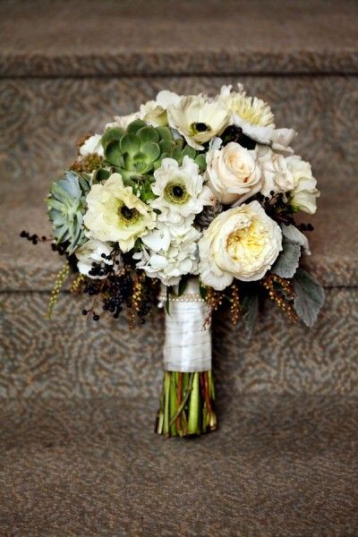 Rustic Elegant Wedding Flowers - Wedding Diary