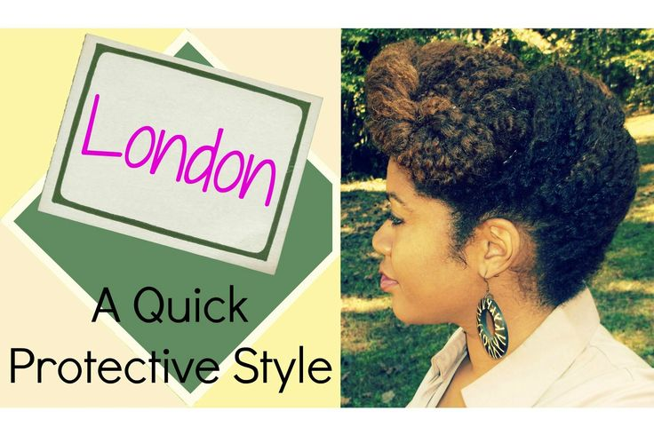 Naturally Michy | L: London | Protective Hairstyle for Natural Hair