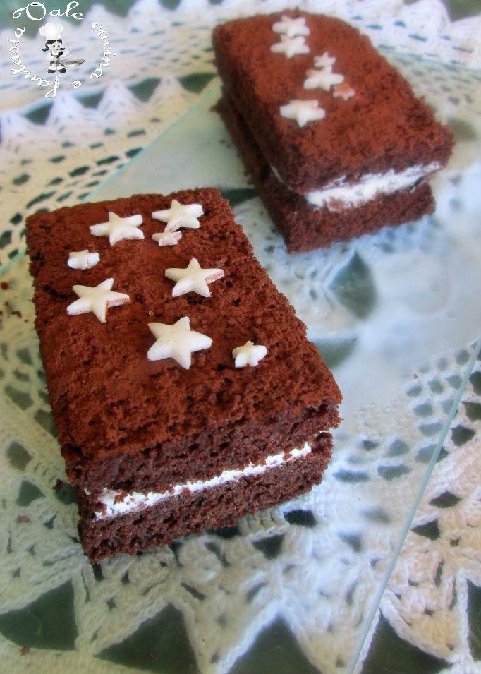 Merendine fatte in casa simil pan di stelle