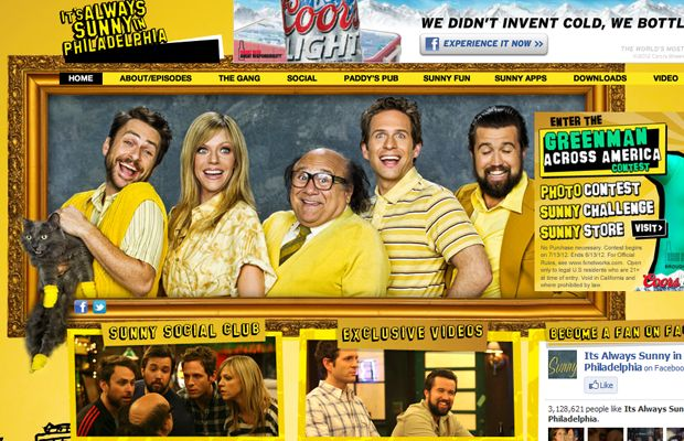 30 Webpage Layout Designs for Popular TV Shows
