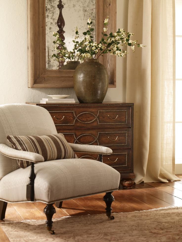 Ethan Allen Living Room Displays