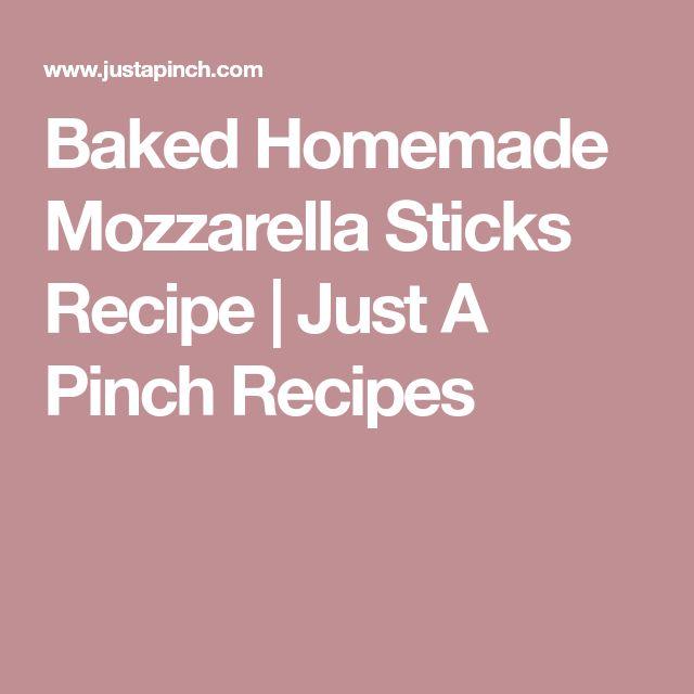 how to make mozzarella sticks with bread