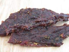 Greatest Beef Jerky Recipe - He can make killer smoked fish, would be awesome if he could finally nail the meat... which he can with practice. :)