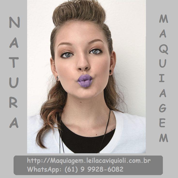 NATURA MAQUIAGEM - Tudo de bom >>> http://Maquiagem.leilacaviquioli.com.br  Você tem interesse em receber Promoções Natura como esta, em seu WhatsApp? Cadastre meu número (61) 9 9928-6082 e solicite via WhatsApp sua inclusão em minha Lista de Transmissão e não perca estas ótimas Promoções.  #Maquiagem