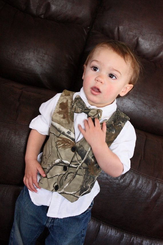 Hey, I found this really awesome Etsy listing at https://www.etsy.com/listing/154950101/boys-vest-real-tree-vest-camo-boys-vest