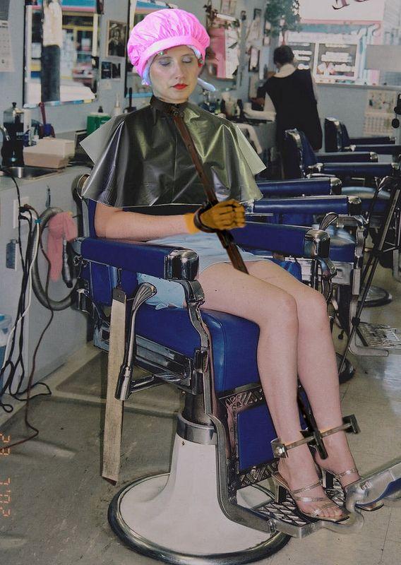 180426  Coiffure Bondage  Hair beauty salon Hair salon