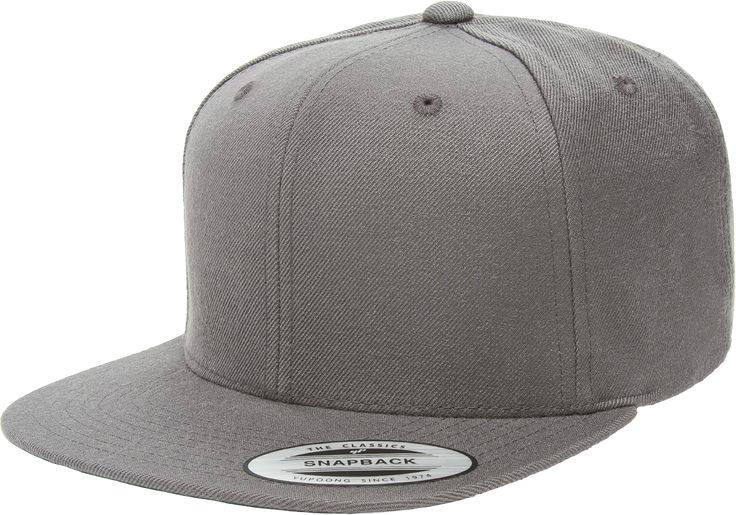 Grab this Flexfit 6089M Grey Premium Classic Snapback Hat! Go get it now only at www.TheCapGuys.com. Matching plastic snap. Hard buckram. Classic green undervisor. #flexfit #snapback #premium #grey #6089M #logo #hat #cap #fashion #swag #me #style # #tagsforlikes #me #swagger #jacket #shirt #dope #fresh #swagger