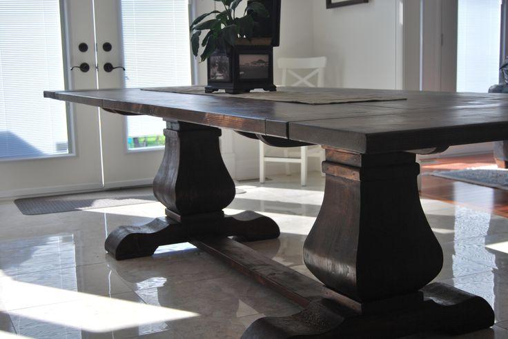 Harvest table. Handmade by https://www.facebook.com/SimplyHarvestCreations