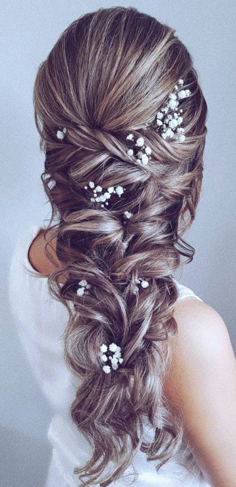 48 Our Favorite Wedding Hairstyles for Long Hair ❤ Favorite Wedding Hairstyles ... - I hear wedding bells! - #Bells # for #hair #hear #lange ...