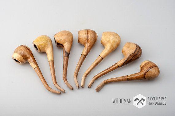 FREE shipping. Smoking pipe Wooden smoking pipe by WoodmanShop