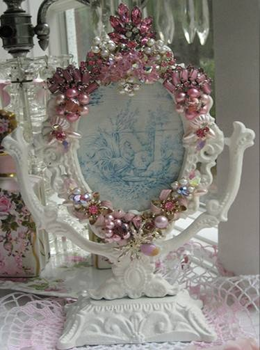 Ideal 127 best JEWELED FRAMES AND MIRRORS images on Pinterest | Frames  FZ45