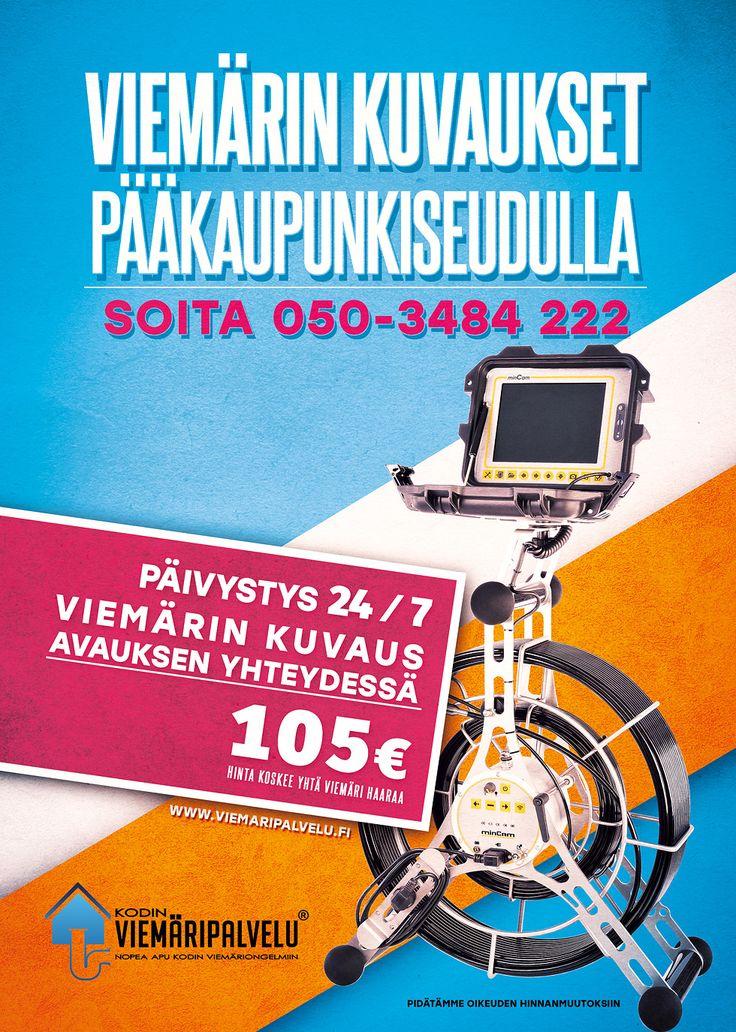 Viemärin kuvaus | Viemärihuolto Helsinki, Espoo & Vantaa