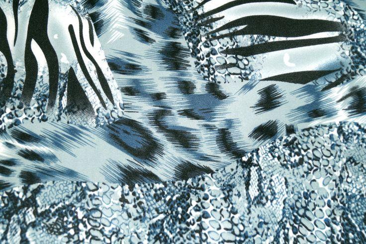 NB16 8230-008 Wintertricot Scuba dierenprint aqua
