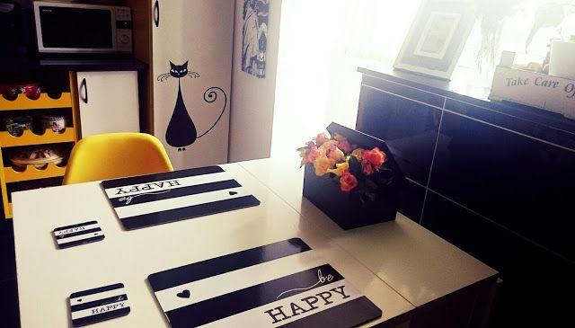 Enjoy! Avant la lettre S: Alexa: DIY: Aranjament pentru bucătărie fericită :)