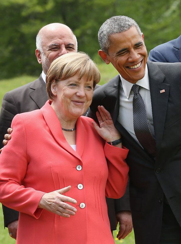 Donald Trump's Awkward Merkel Meeting Is A Far Cry From Her Moments With Obama | The Huffington Post