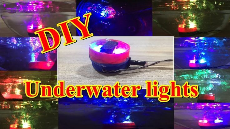 Learn How to make multi color Underwater LED Lights for Aquarium or show piece https://youtu.be/s9wtFatsKZw